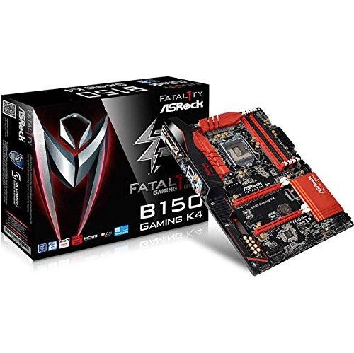 Asrock Fatal1ty B150 Gaming K4 Intel B150 LGA 1151 (Zócalo H4) ATX - Placa Base (DDR4-SDRAM, DIMM, 2133 MHz, 64 GB, Intel, Intel® Celeron®, Intel® Pentium®)