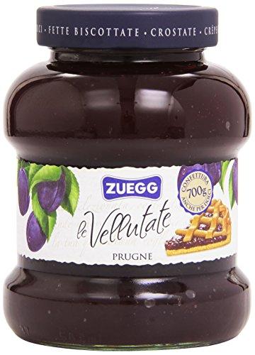 6x Zuegg Prugne Marmelade Backpflaumen Konfitüre Brotaufstriche Italien 700 g