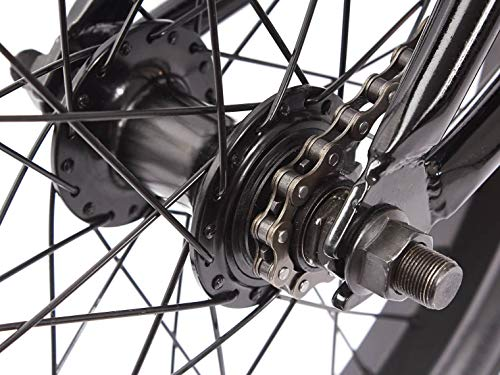 KHE BMX Fahrrad Arsenic CS 18 Zoll schwarz Affix 360° Rotor nur 10,1kg - 4