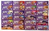 Milka Schokolade Mischpaket 24 Tafeln -