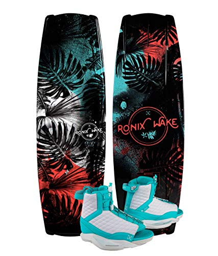 Ronix Krush 134 Women's Wakeboard Package with Luxe Boots - 6-8.5