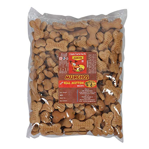 MUNCHOS Real Mutton Dog Adult Biscuits 1 kg