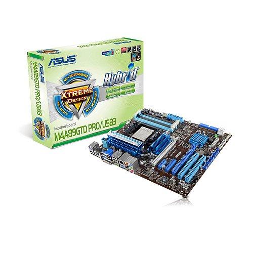 Asus M4A89GTD PRO/USB3 Mainboard Sockel AMD AM3 DDR3 Speicher ATX