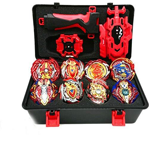 hezhu Beyblade Burst Starter 4D Bayblade Spielzeug Geschenk + Launcher mit Box Set
