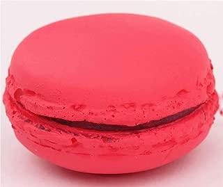 Cafe de N Red Macaron Squishy Charm