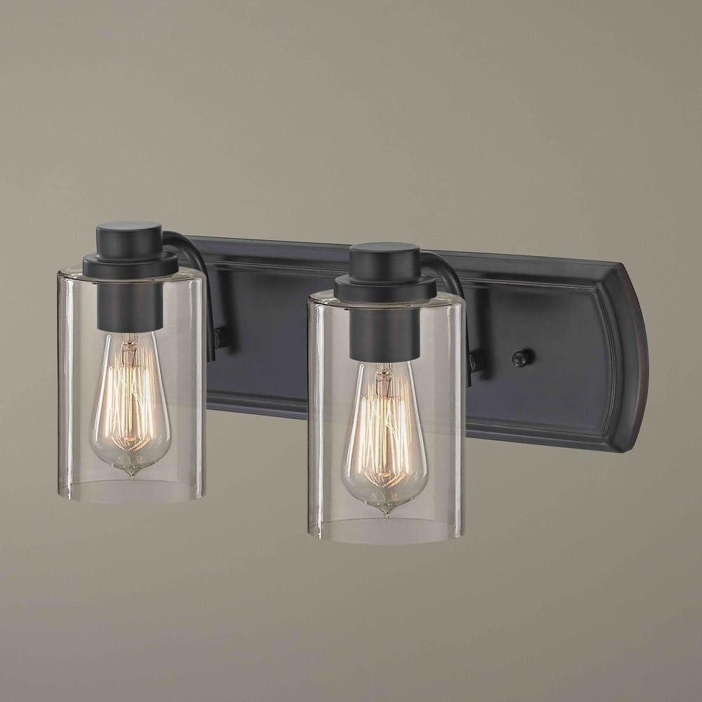 Industrial 2-Light Bath Wall スーパーセール期間限定 全国一律送料無料 Bronze Light in