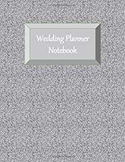 Wedding Planner Notebook: Ultimate Planning Helper - Gender Neutral - Checklists - Aide Memoir Sheets - Venue - Budget - Catering - Contact Sheets - Countdown Prompts