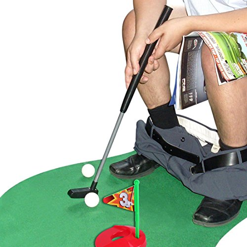 Potty Putter Toilet Golf