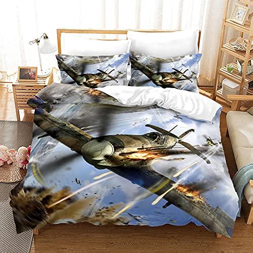 Bedclothes-Blanket Funda nórdica 3D 220x240,Ropa de Cama de Tres Piezas de impresión Digital de Luchador 3D-2_210 * 210