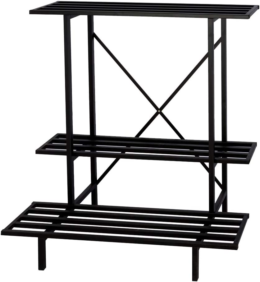 3 Tier Plant Stand Heavy Limited price sale Duty for Holder Home Bargain sale Garden Pla