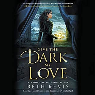 Give the Dark My Love audiobook cover art