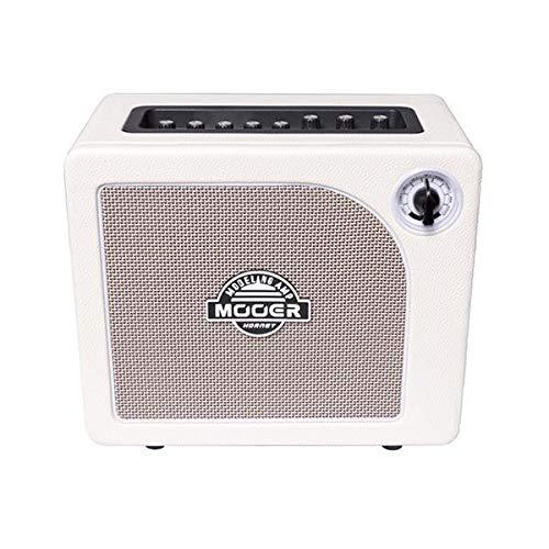 Mooer Hornet White modelling guitar amplifier combo, 15W