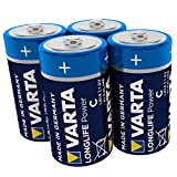 VARTA Longlife Power C Baby LR14 Batterie (4er...