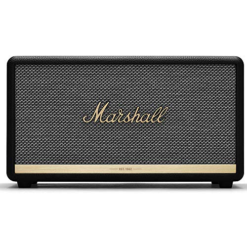 Marshall Stanmore II - Altavoz Bluetooth, color negro
