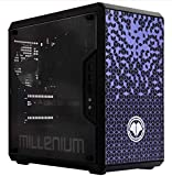 MIllenium - Ordenador Gaming de Sobremesa (Millenium Machine 1 Mini Diana), Intel Core i5 9400F, DDR4 16GB, 1TB + 500GB SSD, NVIDIA RTX 2060, Audio In & out, PS2x2 USB 3.0 x2+2,USB 2.0 x2 Windows 10