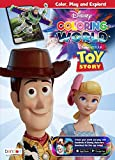 Disney Toy Story 80-Page Coloring World Augmented Reality Coloring Book 47633 Bendon
