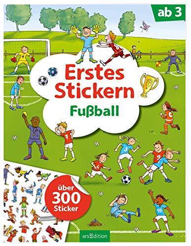 Erstes Stickern Fußball: Über 300 Sticker