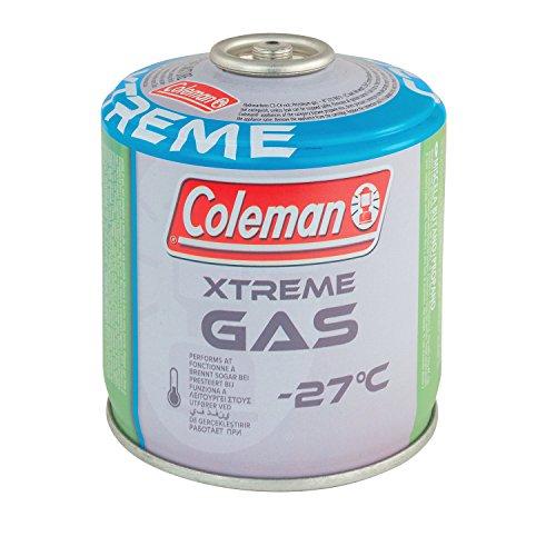 Coleman Cartouche de Gaz à Valve C300 Xtreme, pour Réchauds de Camping Cartouche Compacte et refermable