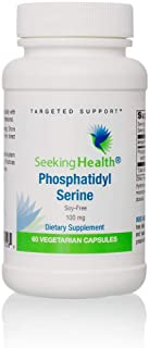 Phosphatidyl Serine | Provides 100 mg of Phosophatidylserine from Sunflower | Soy-Free | Non-GMO | Physician formulated | ...