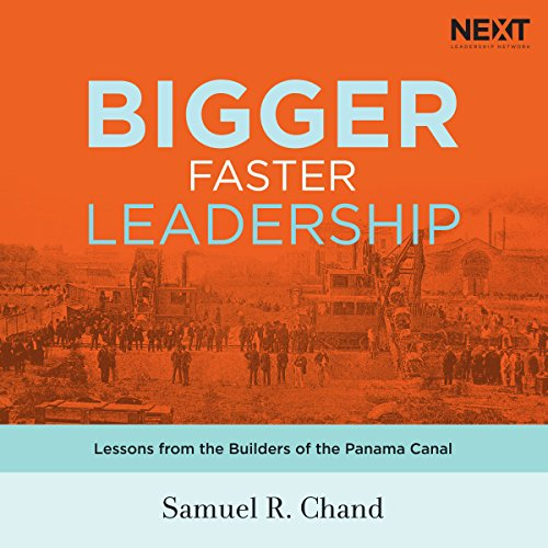 Bigger, Faster Leadership audiobook cover art