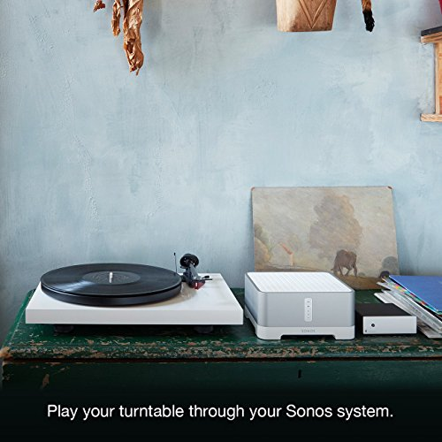 Sonos Connect: Amp - Wireless Home Audio Amplifier for Streaming Music, Amazon Certified and Works With Alexa