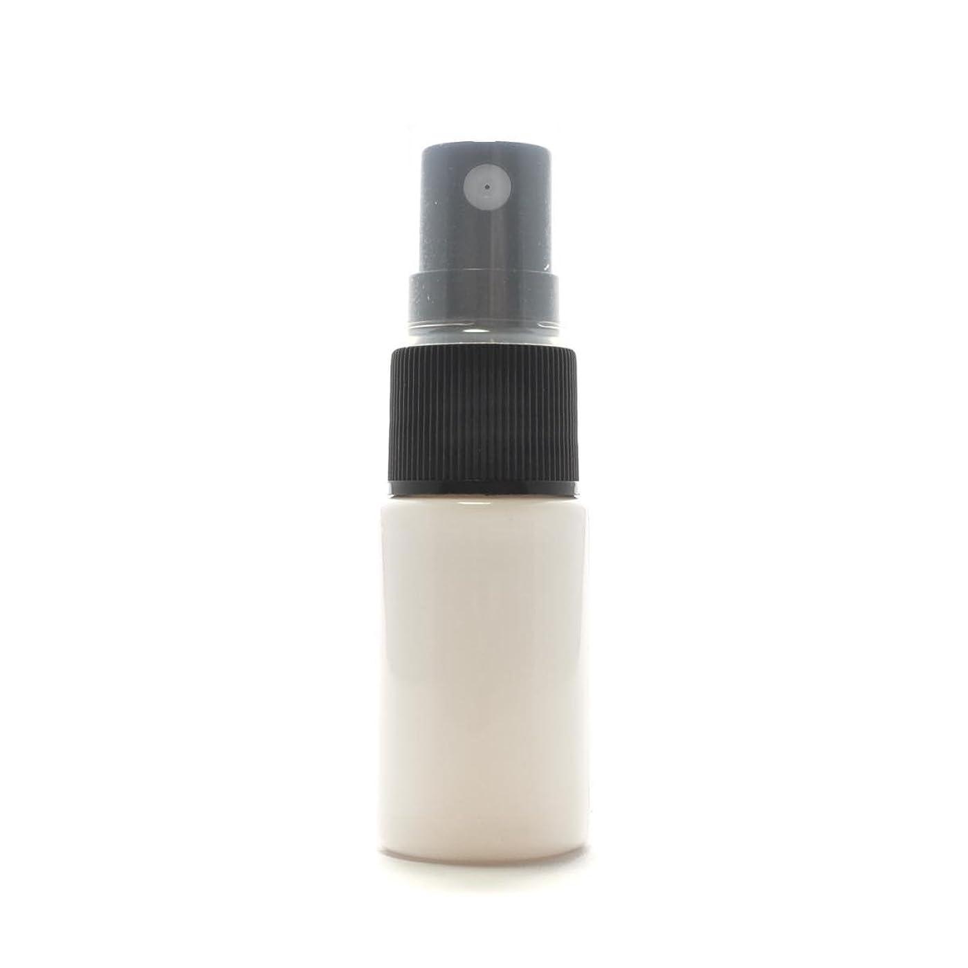 関与するより良い湖スプレーボトル 10ml PET [ ボトル:遮光白 / スプレー:ブラック ]