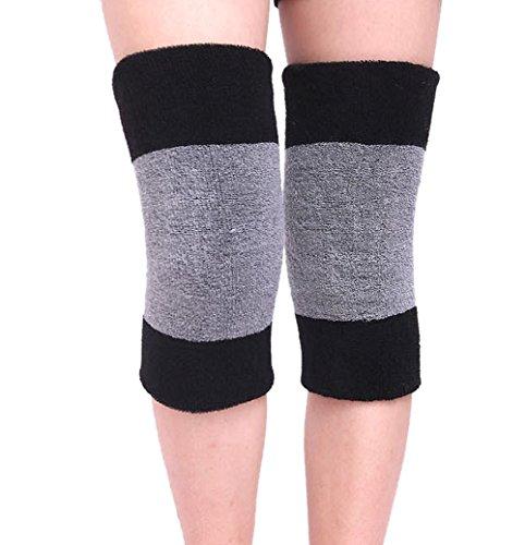 Kniebandage, Warm Knie Hülle Verdickung Absorbent Knie Brace Stützschutz Knie Wärmer Pads Legging Strümpfe - Schmerzlinderung, Warming Knie, Anti-Rutsch