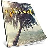 Dékokind® 3 Jahres Journal: Ca. A4-Format, 190+ Seiten, Vintage Softcover • Dicker Jahreskalender, Tagebuch für Erwachsene, Kalenderbuch • ArtNr. 01 Urlaubsreif • Ideal als Geschenk