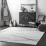 nuLOOM Thigpen Contemporary Area Rug, 3' x 5', Grey