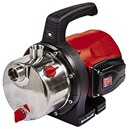 Einhell GC-GP 1250N Pompe de jardin (1200W, débit max. 5000l/h, vis de remplissage d'eau, vis de vidange d'eau)