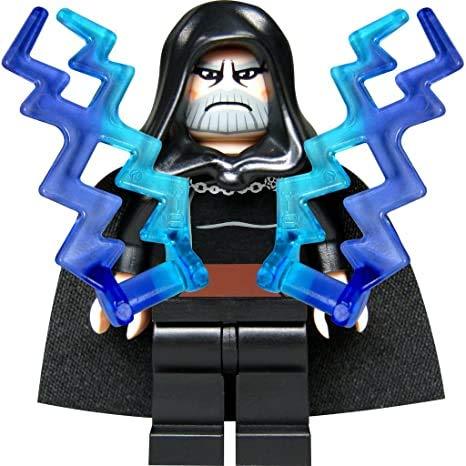 LEGO Star Wars - Figura del Conde Dooku con Dos Rayos de luz y Espada láser
