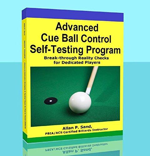Advanced Cue Ball Control Self-Testing Program for Pool & Pocket Billiards (English Edition)