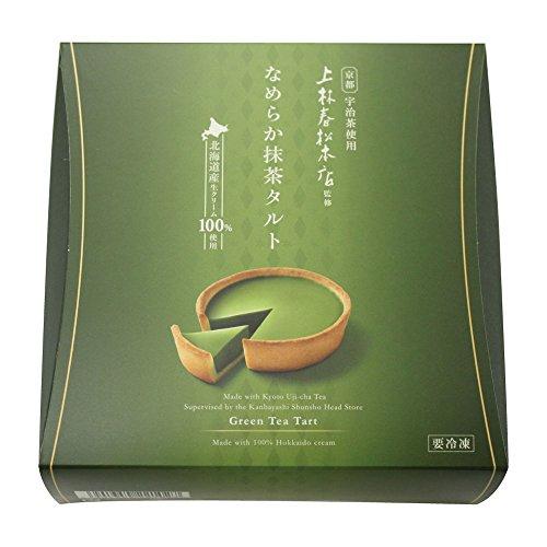 【お取り寄せグルメ】「上林春松監修」なめらか抹茶タルト 180g 5815-070049 ケーキ 甘味 デザート 北海道直送品 送料無料 のし対応可 ギフト 贈物