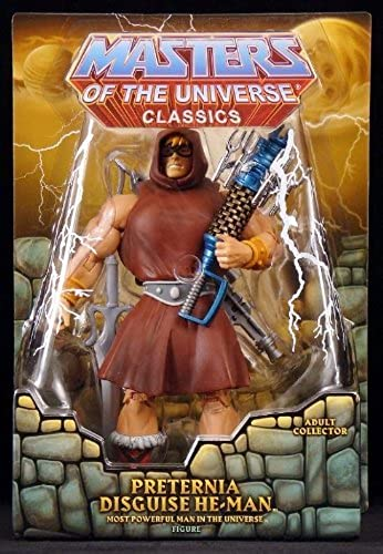 HeMan Masters of the Universe Classics Exclusive Action Figure Preternia Disguise HeMan by Master Of The Universe Classics