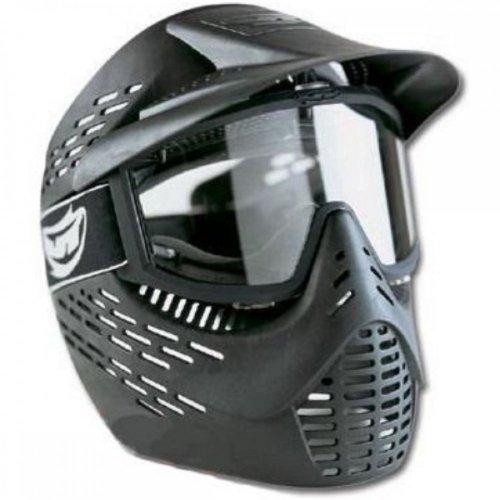 JT Erwachsene Paintball Maske Elite Radar Thermal Schutzmaske, Black