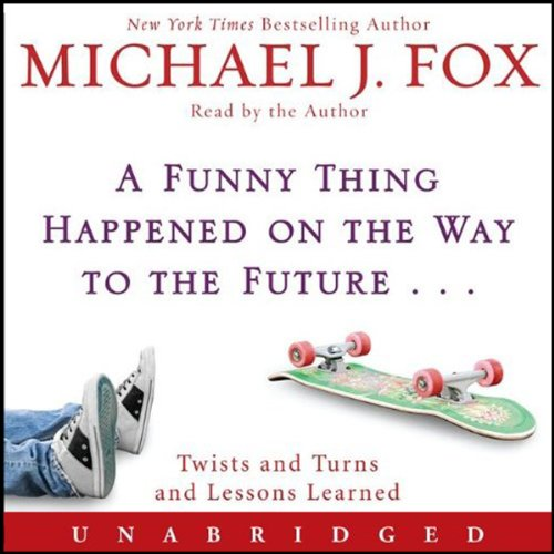 A Funny Thing Happened on the Way to the Future audiobook cover art