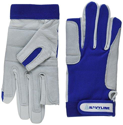 Navyline Segelhandschuhe Super Soft 2 Finger geschnitten, Größe:M