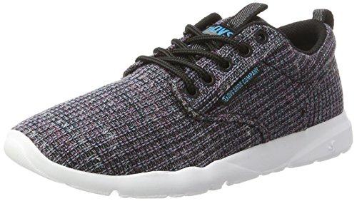 DVS Shoes Premier + WOS, Zapatillas para Mujer, Negro (Multi Woven 960), 39 EU