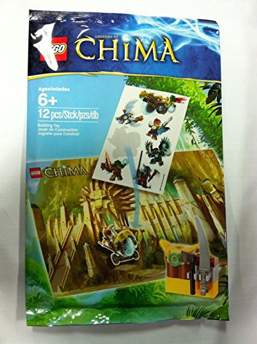 Lego Legends of Chima 6043191 Add On for 70010 Weapons Poster Stickers New ^G#fbhre-h4 8rdsf-tg1367262