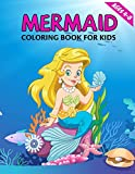 Mermaid Coloring Book for Kids Ages 4-8: A cute mermaid coloring activity book for kids & Girls with barbie beautiful mermaids.great coloring book gift idea.