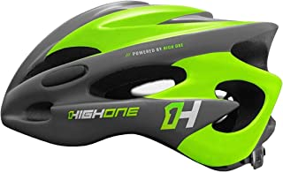 Capacete Bike Mtb High One Volcano C/Regul e Led Var. Cores Tamanho:G;Cor:Verde
