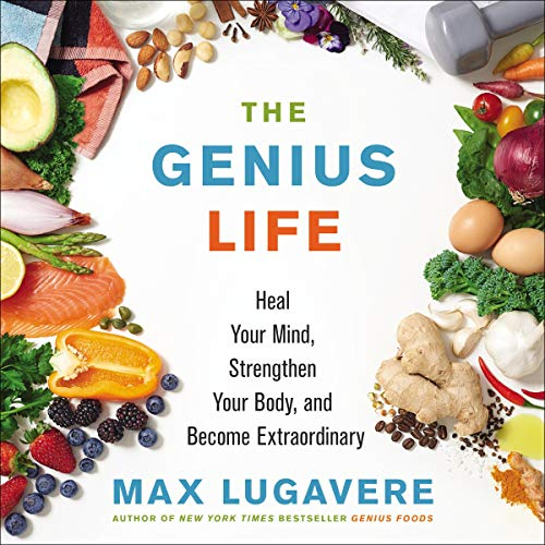 The Genius Life audiobook cover art