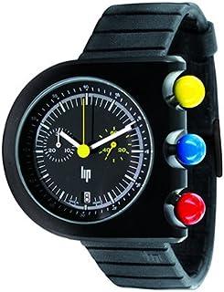 フランス製腕時計 Lip リップ Mach2000 Chronograph マッハ2000 クロノグラフ ラバーベルト(正規代理店商品)