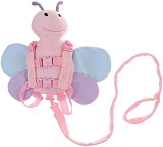 Dolity Animal 2in1 Safety Harness & Backpack Kids Toddler Reins Soft Animal Travel - Bee, as described