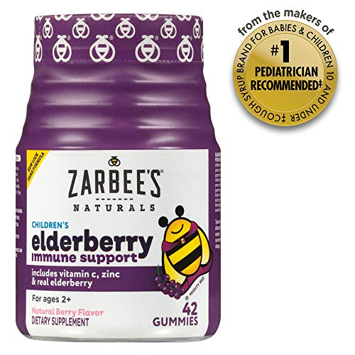 Zarbee's Naturals Children's Elderberry Immune Support Gummies Only $10.49 - Regular Price $18.99