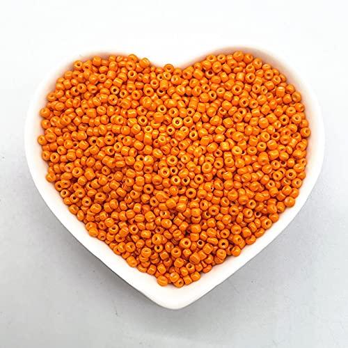 tggh Diy cuentas efecto de la laca que hornea encanto de cristal checo semilla cuentas DIY pulsera perlas para hacer accesorios (color: 09, diámetro del artículo: 2 mm (1000 piezas)