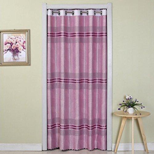 Liuyu · Maison de Vie Porte Rideau Tissu Ménage Chambre Couper Décoration Cuisine Montage Chambre Baie Fenêtre (Couleur : Violet, Taille : 190 * 70cm)
