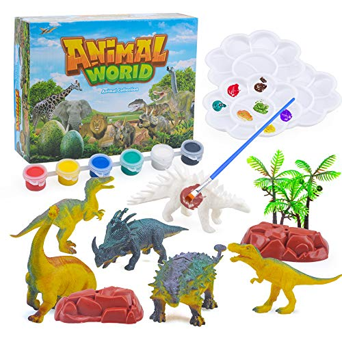 Dinosaurussen schilderen voor kinderen DIY Dinosaur Arts Crafts Gift voor jongens Meisjes Kids