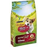 Purina Friskies Vitafit Mini Menu Nutri Soft Pienso para Perro Adulto Buey 6 x 1,4 Kg