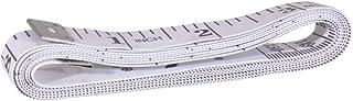Pasas Mètre à Ruban Souple Double Face pour mesurer Le Tour de Poitrine/Tour de Taille Blanc 150 cm